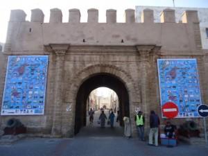 A:P banners on Bab Sbâa